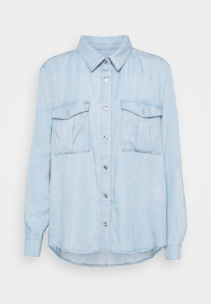 MARIE - Button-down blouse - light blue