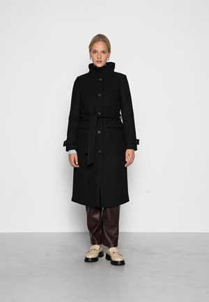 VMCLASSLUCIA LONG JACKET - Classic coat - black