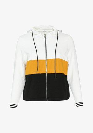 Zip-up hoodie - ocher