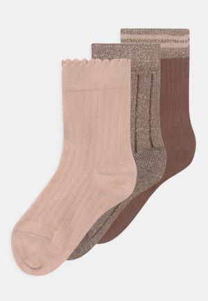 ABBY 3 PACK UNISEX - Socks - multicoloured