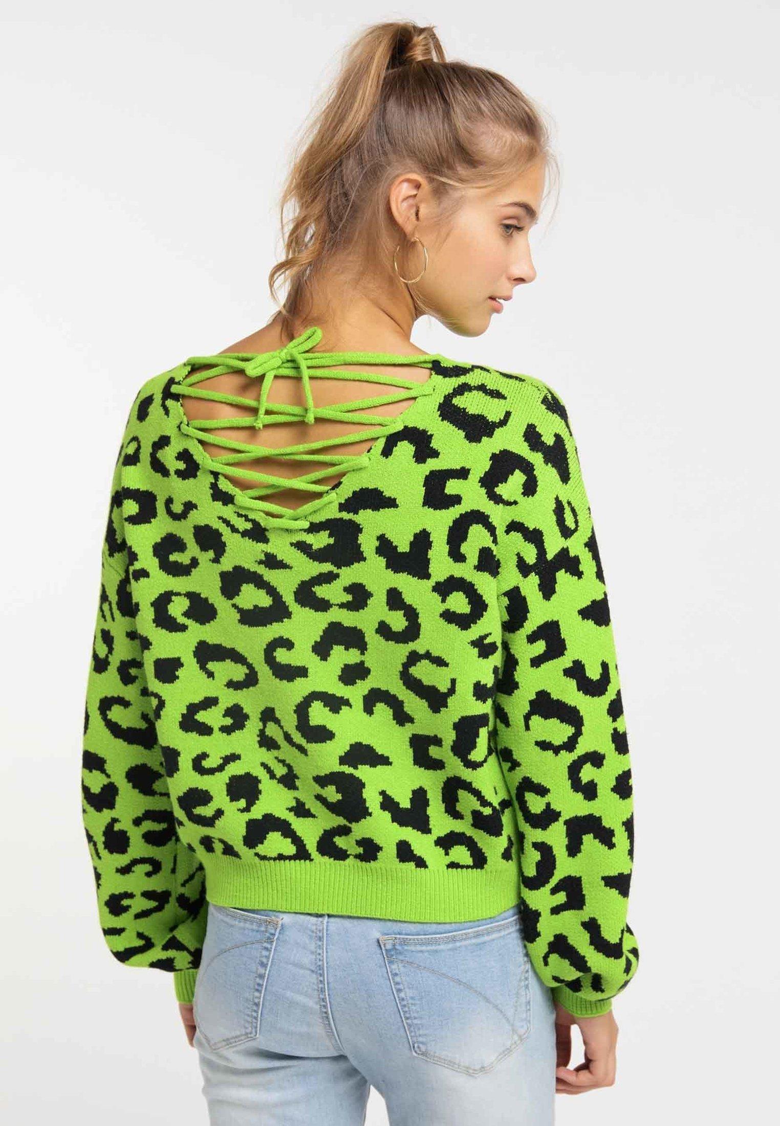 myMo Trui - green - Dames jas Actueel