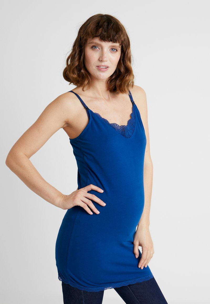 Esprit Maternity - SPAGHETTI NURSING - Top - bright blue
