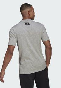 adidas Performance - BADGE OF SPORT - Print T-shirt - grey - 1