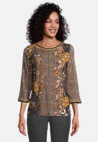 Betty Barclay - T-shirt à manches longues - black/yellow - 0