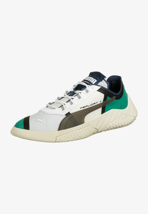 Sneakers - white-spectra green