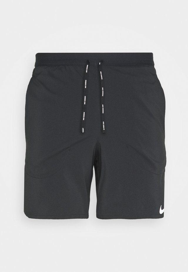 STRIDE SHORT - Korte broeken - black