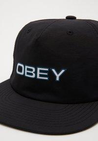 Obey Clothing - COPPER STRAPBACK - Kšiltovka - black - 3