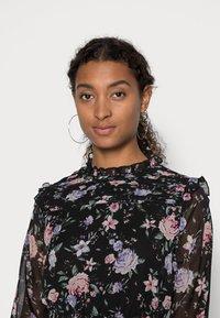 ONLY - ONLSKYE SMOCK DRESS - Day dress - black/rose - 4