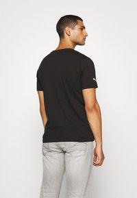 Puma - BMW MMS LOGO TEE - Print T-shirt - black - 2