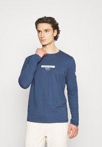 Redefined Rebel - GUTI TEE - Långärmad tröja - dark denim - 3