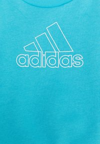 adidas Performance - Sweatshirt - brcyan/white - 3