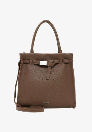 SINDY - Handbag - darktaupe 950