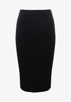KAMA - Pencil skirt - black