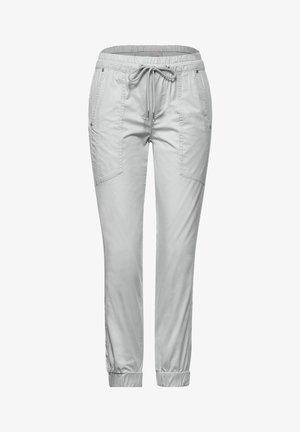 MIT TUNNELZUG - Trousers - grau