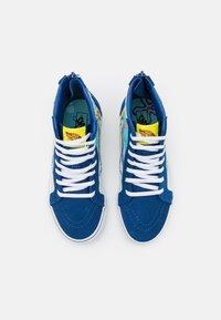 Vans - UY VANS X SPONGEBOB SK8-HI ZIP UNISEX - High-top trainers - dark blue/multicolor - 3