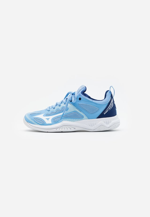 GHOST SHADOW - Chaussures de handball - dellar blue/white