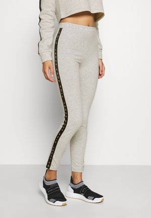 CONGO TAPED - Leggings - ice marl