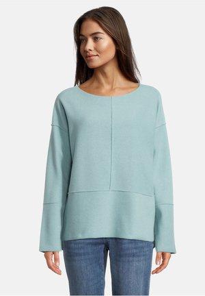 Sweatshirt - middle turquoise melange