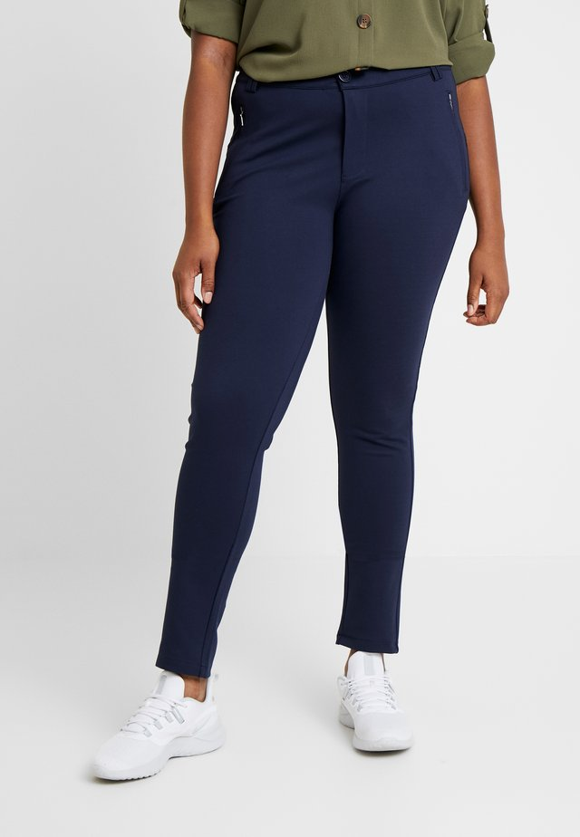 PANTS - Trousers - dark navy