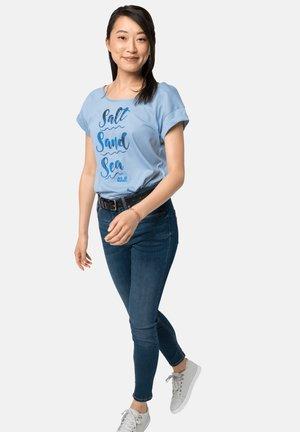 SALT SAND SEA - Print T-shirt - ice blue