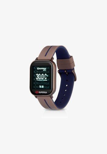 Smartwatch - brown/blue