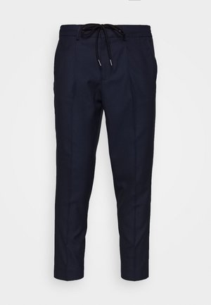 SLHSLIMTAPE JAX CROP PANTS - Pantaloni - navy