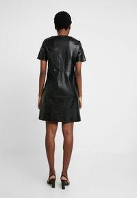 Opus - WASINE - Day dress - black - 3