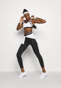 Nike Performance - Tights - black/white - 1