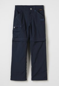 Jack Wolfskin - SAFARI ZIP OFF PANTS 2-IN-1 - Outdoorové kalhoty - night blue - 0