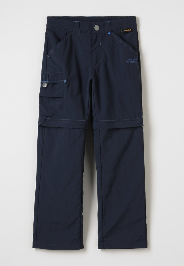 SAFARI ZIP OFF PANTS 2-IN-1 - Outdoor-Hose - night blue