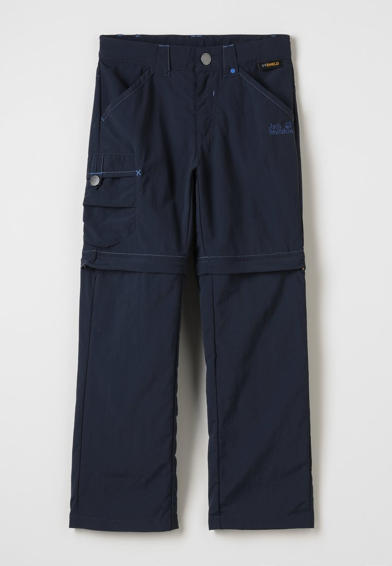 Jack Wolfskin - SAFARI ZIP OFF PANTS 2-IN-1 - Outdoorové kalhoty - night blue