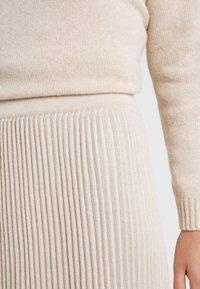WEEKEND MaxMara - SCILLA - Pleated skirt - beige - 4