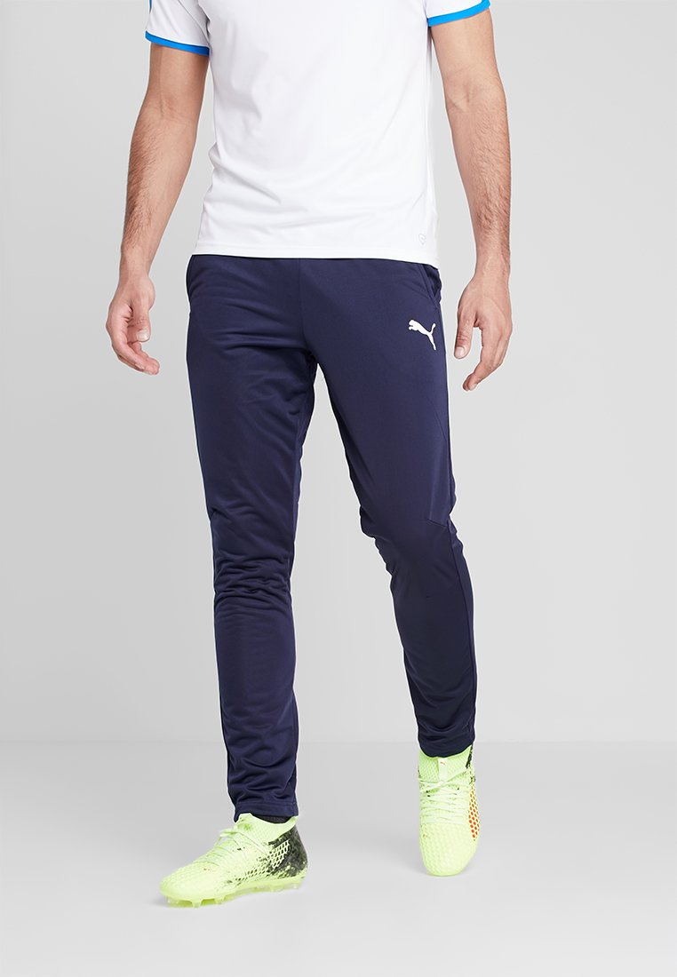 Puma - LIGA TRAINING PANT CORE - Spodnie treningowe - peacoat/white
