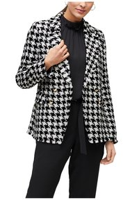 s.Oliver BLACK LABEL - Blazer - black check - 3