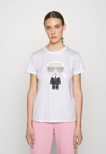 IKONIK  - T-Shirt print - white