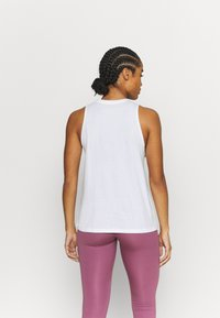 Under Armour - SPORTSTYLE GRAPHIC TANK - Funktionsshirt - white - 2