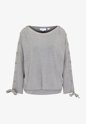 Sweter - grau melange