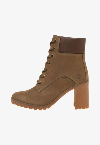 ALLINGTON 6IN LACE UP - Lace-up ankle boots - taupe