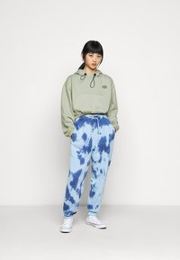 Topshop Petite - INTERNATIONAL SLOGAN HOODIE - Sweatshirt - stone - 1