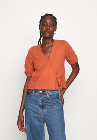 Madewell - PANETONNE  - Print T-shirt - afterglow red - 0