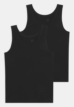 PERSONAL FIT 2 PACK - Undershirt - schwarz