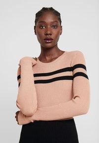 Anna Field - Vestido de tubo - black/beige - 3