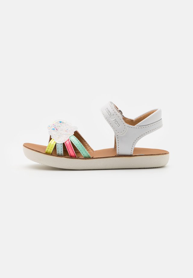 GOA - Sandals - white/multicolor/pastel