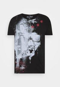 REPORT - Print T-shirt - black