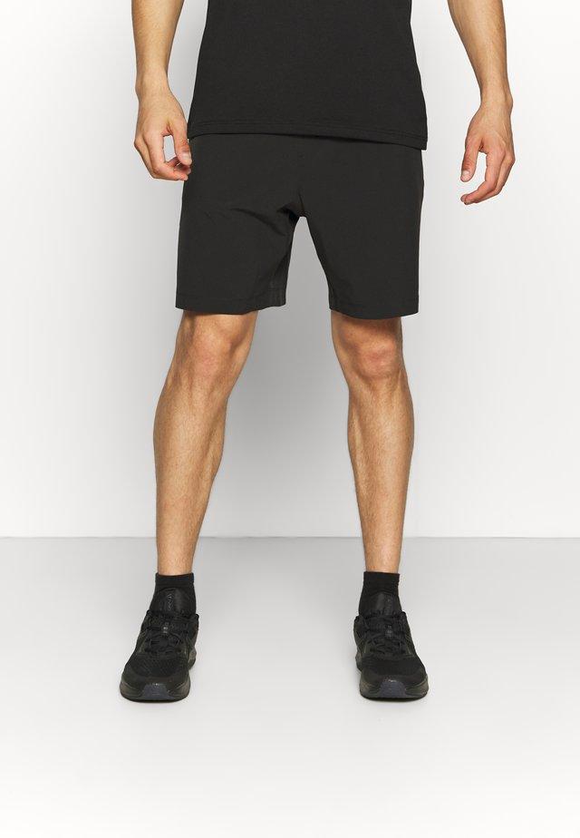 LOGO TRAINING SHORT - Short de sport - black