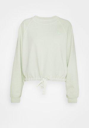 CINCHED CREW - Sweatshirts - light green