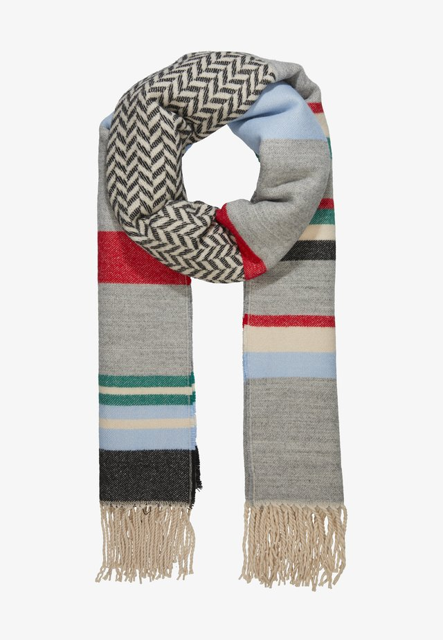 BLANKET STRIPED - Bufanda - grey