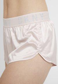 DKNY Intimates - TAP PANT - Pyjama bottoms - blossom/silver - 4