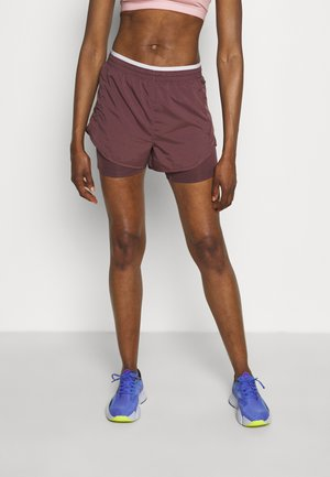 TEMPO LUXE SHORT - Sports shorts - dark wine/venice/reflective silver