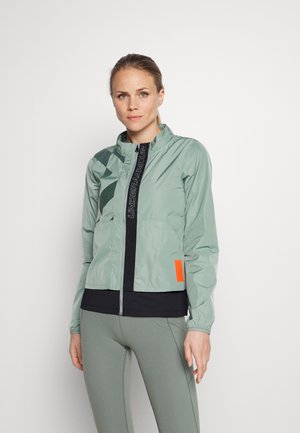 RUN ANYWHERE LASER JACKET - Sports jacket - green